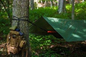 bushcraft camp ausrüstung zelt
