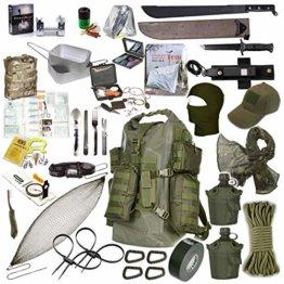 Fluchtrucksack EXTREM Prepper Rucksack Krisenvorsorge Überlebensrucksack #34043 - 1