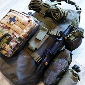 Fluchtrucksack EXTREM Prepper Rucksack Krisenvorsorge Überlebensrucksack #34043 - 4