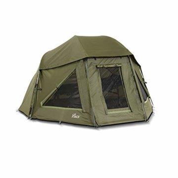 Lucx® Wolf Schirmzelt Brolly Shelter Angelzelt Karpfenzelt Zelt Bivvy Campingzelt 10.000mm Wassersäule - 1