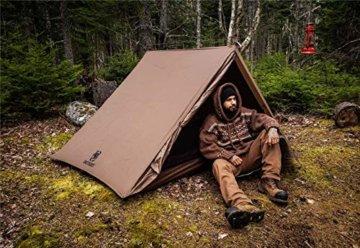 OneTigris Tangram UL Doppelzelt Easy Setup Shelter Zelt 3 Jahreszeiten  MEHRWEG Verpackung - 2