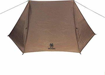 OneTigris Tangram UL Doppelzelt Easy Setup Shelter Zelt 3 Jahreszeiten  MEHRWEG Verpackung - 3