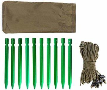 OneTigris Tangram UL Doppelzelt Easy Setup Shelter Zelt 3 Jahreszeiten  MEHRWEG Verpackung - 4