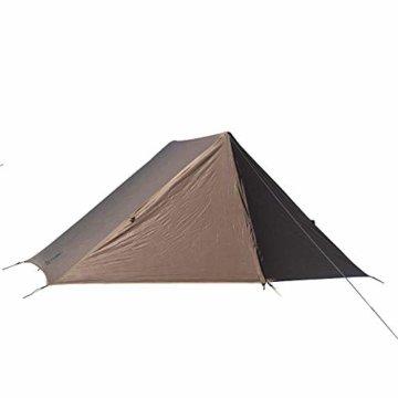 OneTigris Tangram UL Doppelzelt Easy Setup Shelter Zelt 3 Jahreszeiten  MEHRWEG Verpackung - 1