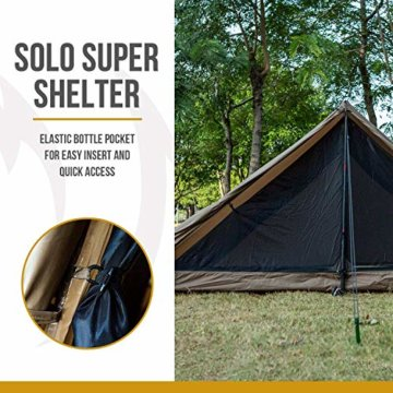 OneTigris Tangram UL Doppelzelt Easy Setup Shelter Zelt 3 Jahreszeiten  MEHRWEG Verpackung - 6