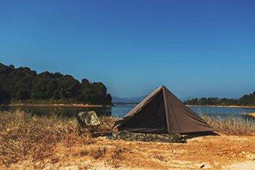 OneTigris Tangram UL Doppelzelt Easy Setup Shelter Zelt 3 Jahreszeiten  MEHRWEG Verpackung - 9