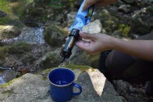 prepper wasser aufbereitung trinkwasser wildnis