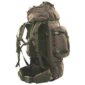 Wisport Bug Out Bag 75L für Damen & Herren + inkl. E-Book | Prepper Rucksack Frauen Männer | BOB Backpack | Go Bag | Fluchtrucksack groß taktisch | Cordura | Reindeer RAL-7013 - 2